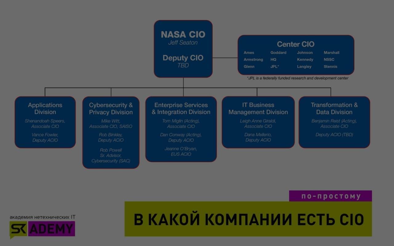 CIO (Chief Information Officer) —  директор по информационным технологиям
