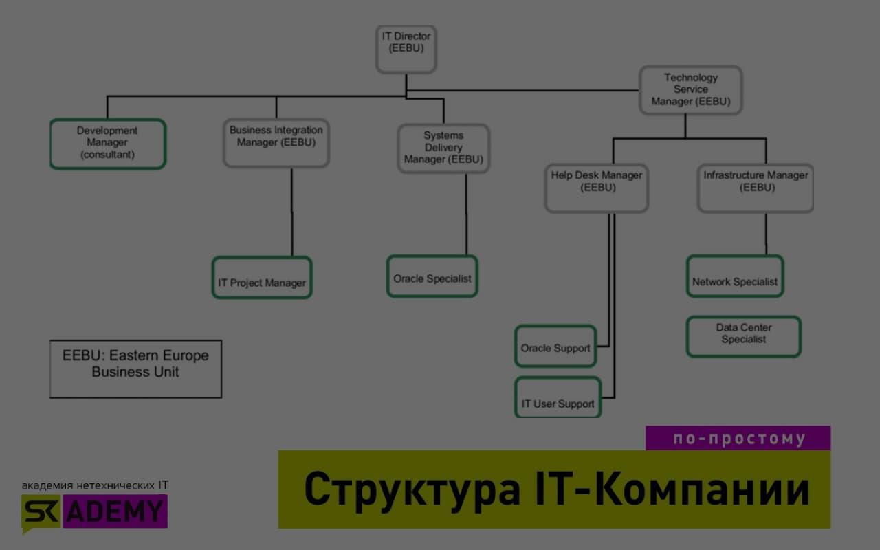 Функциональная структура компании