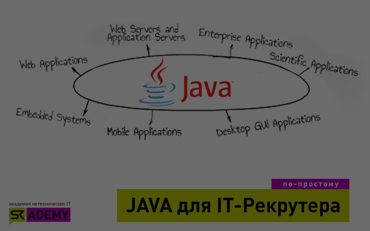 Java для рекрутеров: в чем надо разбираться?